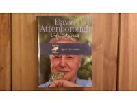 David Attenborough 'Life Stories' Signed First Edition Book