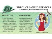 100% Guranteed End of Tenancy Cleaning - Short Notice - Deep Clean - Carpet Clean -Domestic Cleaning