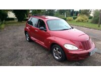 Chrysler PT Cruiser 2.0 Petrol Automatic Low mileage 1 Owner MOT Drivable Spares Repairs