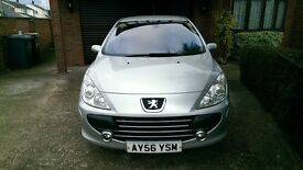 PEUGEOT 307 5 DOOR HATCHBACK 2.0 HDI DIESEL, LOVELY CAR, VERY ECONOMICAL, CHEAP TAX, 1 PRIVATE OWNER