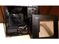 Cooler Master Case With 650W Dual Reil Power Supply