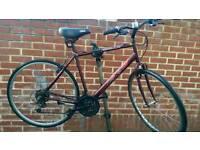 """Hybrid Bike 28"""" Wheels 21"""" Frame Apollo XC.10"""