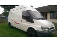 FORD TRANSIT 2.4 TD, LWB,HIGH ROOF