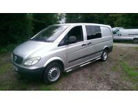 Mercedes-Benz Vito 2.1 111CDI Dualiner Basic Long Panel Van 5dr 6 Seater Day Van