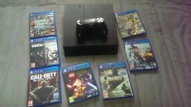 PS4 11 games 1controller