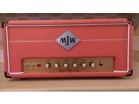 MJW Electra Grind 50W Prototype Valve Guitar Amp Head 50W EL34 Hot Marshall Power Scaling Hand Wired