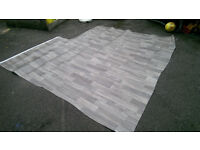 Wood-effect lino appox 2m x 2.5m - perfect for cupboard, shed, playhouse etc