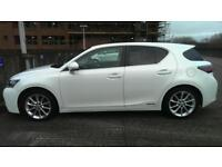 IMMACULATE - LEXUS CT200h SE-I CVT PEARL WHITE 2011 (61 PLATE) WITH LEXUS SERVICE HISTORY