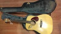 Acoustic guitar with capo for $150 obo
