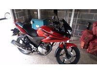 125 Honda CBF 2009