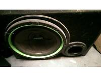 "Fusion 12"" ported sub clean sound"
