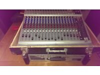 Peadey 16 channel mixing desk with effects