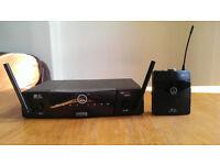 AKG wireless guitar/microphone system