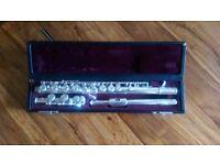 Yamaha 311 flute (silver plated head)