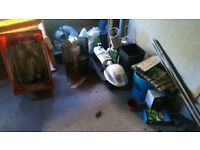 Job lot of hydroponics equipment
