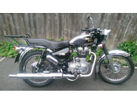 ENFIELD 500 EFI BULLET EXHAUST SYSTEM