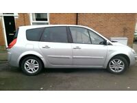 2008 RENAULT GRAND SCENIC DYN S 7 DCI SILVER Keyless entry&start Cruise control