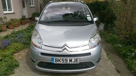 Citroen C4 Grand Picasso Exclusive. Silver. Power steering, electric windows, climate control etc