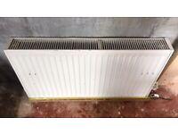 RADIATOR LARGE TYPE 22 double radiator 90cm (900mm) wide x 50cm (500mm) tall x 11cm (110mm) depth