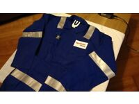 Assorted FR / Non FR Work Overalls Coveralls - Various Sizes & Colours - FR Non FR