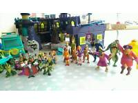 Scooby Doo joblot of Toys, playsets, figures