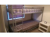 Metal Frame Bunk Beds with Matresses