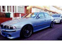2000 BMW M5 E39 V8 SILVERSTONE BLUE