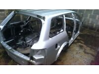 2005 AUDI ALLROAD C5 BARE SHELL IN SILVER SPARES OR REPAIR