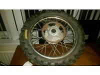Rear wheel 16 inch