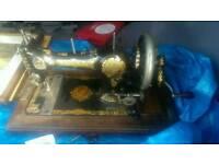 1920's English JONES FAMILY C.S. Hand Crank Sewing Machine