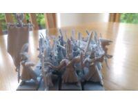 Warhammer High Elf archer regiment