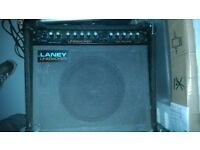 Laney Linebacker 100 reverb guitar amp