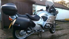BMW R1150RT for sale. Heated grips, electric screen,full luggage, MOT till Aug 2017