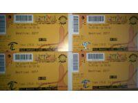 4 Bestival full weekend adult tickets
