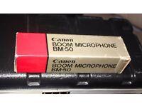 Canon BM 50 Condenser Microphone
