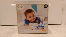Wooden Kids Aeroplane - £5 (Brand new)