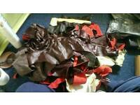 Leather pieces & tools