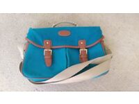 Smart Blue Canvas style Camera Bag