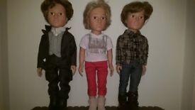 Design a friend boy dolls, £35 each