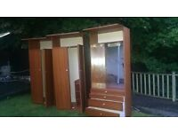 Wardrobe/Dresser - Older style - Useful with plenty of storage, see pictures