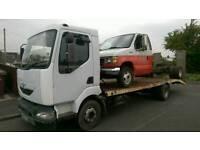 Renault Midlum Beavertail Recovery Transporter