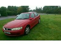 Vauxhall vectra 1.6 16v low mileage