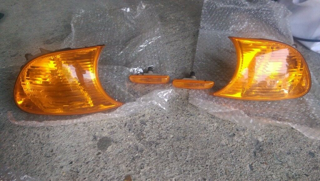 Genuine BMW E46 Coupe Rear Light Clusters, Front Indicators and Side Indicators
