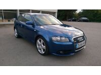 Audi A3 S line, Beautiful Car,3 Months Warranty,Long Mot, Hpi Clear 4195 Ono