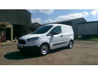 Ford Transit Courier with fold down seat for longer load. NO VAT private sale