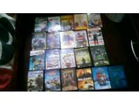 Huge Bundle (19) of DVD's kids, thrillers, comedy, horror see list