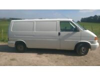 VW T4 2001, 115,00 miles MOT May 2018 Drives well, good tyres. Alloys available at the right price