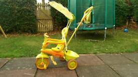 Smart Trike girls or boys neutral colours