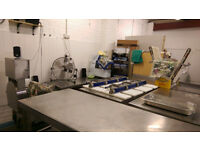 Commercial kitchen unit to let/share