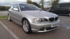 2004/54 BMW 325ci Sport, Silver, Manual, Facelift E46, Full Service History, new MOT, nice example
